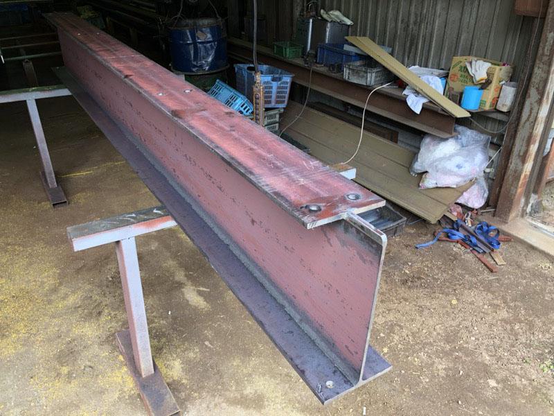 H形鋼架台