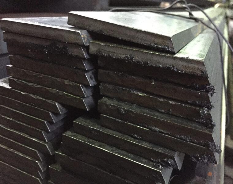 平鋼 シカル加工